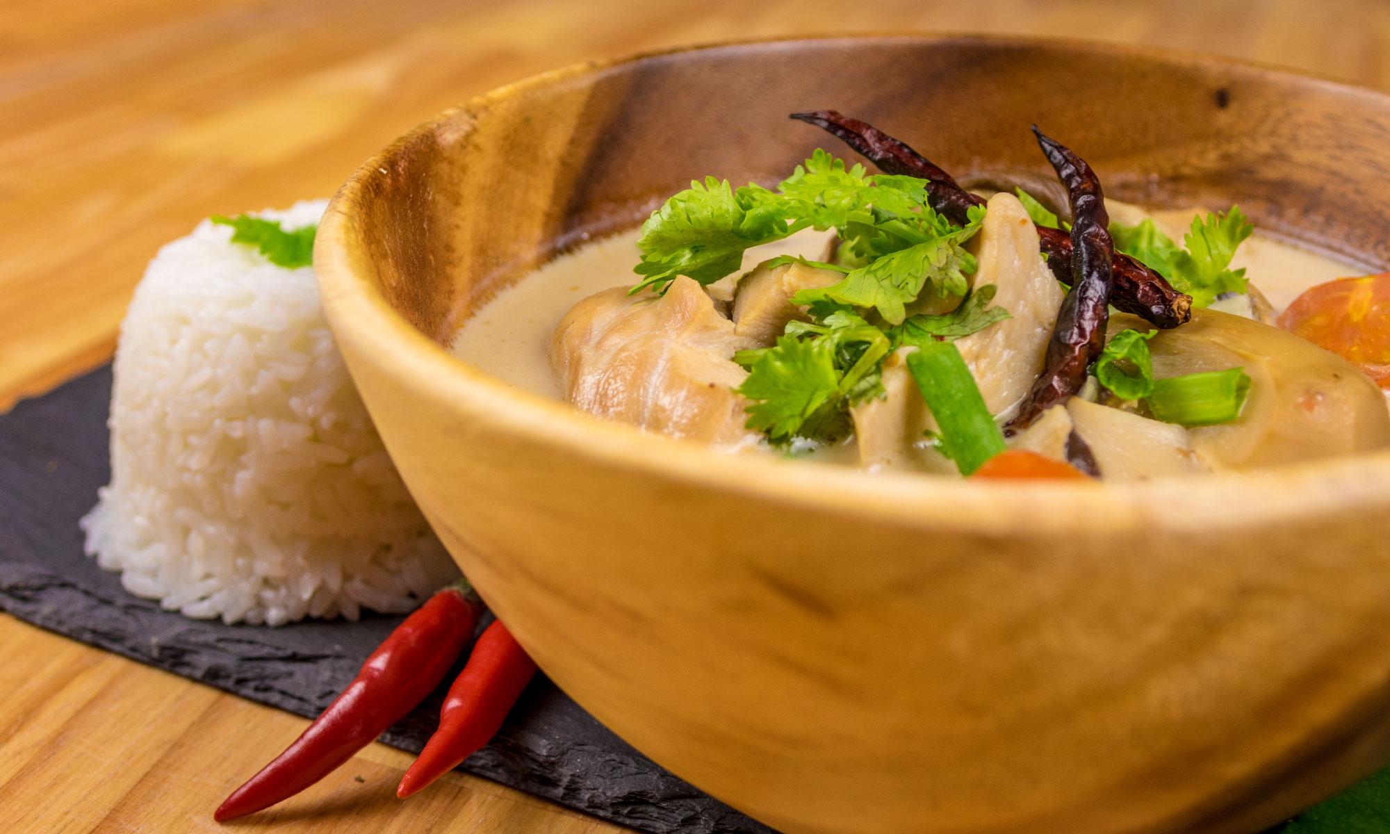 Essen & Suppen im Thai Restaurant in Dresden Neustadt